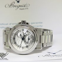 Breguet Steel 42mm Automatic 5857 pre-owned