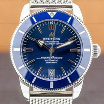 Breitling Superocean Héritage II 42 Steel 42mm Blue Arabic numerals United States of America, Massachusetts, Boston