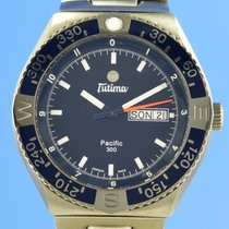 Tutima Pacific Titanio 42.5mm Azul