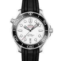 歐米茄 新的 自動發條 中心秒針 旋轉式錶圈 42mm 鋼 藍寶石玻璃