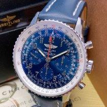 Breitling Navitimer 01 Steel 43mm Blue Arabic numerals