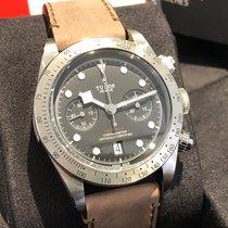 Tudor Black Bay Chrono neu 2020 Automatik Chronograph Uhr mit Original-Box und Original-Papieren M79350-0005