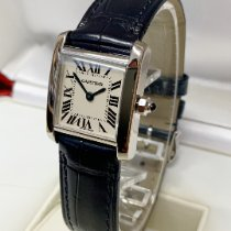 Cartier Tank Française White gold 20mm Silver Roman numerals United Kingdom, Wilmslow