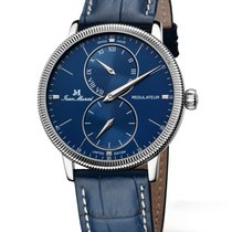 Jean Marcel new Manual winding Display back Small seconds 43mm Steel Sapphire crystal
