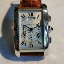 Cartier Tank Américaine W2609456 Very good White gold 52mm Automatic
