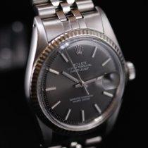 Rolex Datejust Acier 36mm Gris Sans chiffres