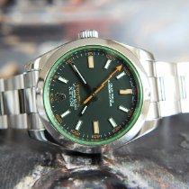 Rolex Milgauss новые 2009 Автоподзавод Часы с оригинальной коробкой 116400GV