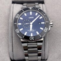 Oris Aquis Small Second pre-owned 45.50mm Steel