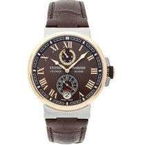 Ulysse Nardin Marine Chronometer Manufacture Gold/Steel 43mm Brown United States of America, New York, NY