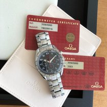 Omega Speedmaster Broad Arrow Steel 42mm Black Arabic numerals