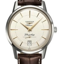 Longines Steel 38.5mm Automatic L47954782 new