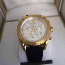 Versace Gold/Stahl 45mm Quarz neu