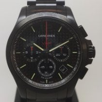 Longines Steel 42mm Chronograph L3.717.2.66.6 new