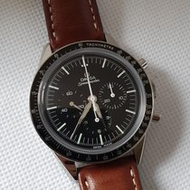 Omega Speedmaster Professional Moonwatch Acero 39.7mm Negro Sin cifras