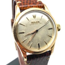 Rolex Bubble Back Goud/Staal 34mm Wit Nederland, Knegsel