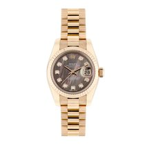 Rolex 179175 Or rose 2016 Lady-Datejust 26mm occasion