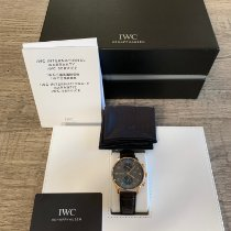 IWC 3714 Or rose 2017 Portuguese Chronograph 41mm occasion