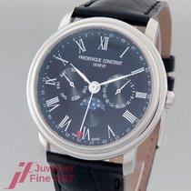 Frederique Constant Classics Business Timer Steel Black
