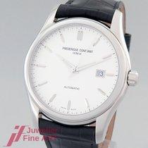Frederique Constant Classics Index occasion Blanc Cuir