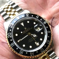 Rolex GMT-Master II 16713 Bon Or/Acier 40mm Remontage automatique
