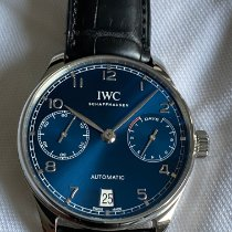 IWC IW500710 Steel Portuguese Automatic 42.3mm pre-owned United States of America, New York, jamaica