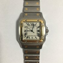 Cartier Santos Galbée Gold/Steel 29mm White Roman numerals United States of America, Florida, Miami
