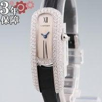 Cartier White gold 16mm Quartz WJ301650 pre-owned