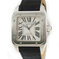 Cartier Steel 38mm Automatic W20073X8 pre-owned