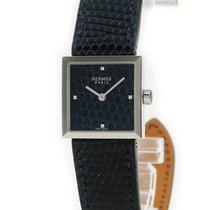 Hermès Damenuhr 24mm Quarz gebraucht Uhr mit Original-Box und Original-Papieren