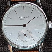 NOMOS Orion 33 Steel 32.8mm White