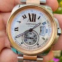 卡地亚 Calibre de Cartier W7100036 好 金/鋼 42mm 自動發條