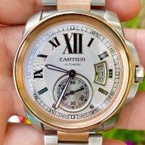 Cartier Calibre de Cartier Gold/Steel 42mm Silver Roman numerals United States of America, Texas, Plano