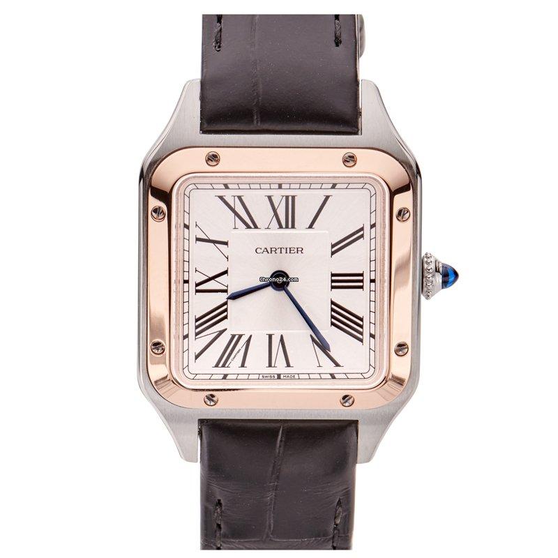 Cartier Santos Dumont W2SA0012 2021 новые