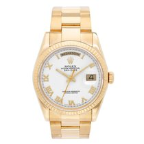 Rolex Day-Date 36 36mm White Roman numerals United States of America, Texas, Dallas