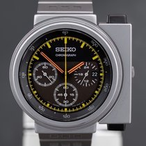 Seiko Spirit Steel 42.2mm Black