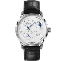 Glashütte Original PanoMaticLunar new 2021 Automatic Watch with original box and original papers 1-90-02-42-32-05
