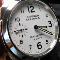 Panerai Luminor Marina 8 Days Stal 44mm Biały