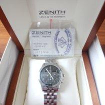 Zenith El Primero Chronograph Acier Noir Sans chiffres France, Reims
