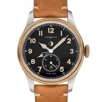 Montblanc 1858 116479 New Steel 44mm Automatic