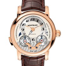 Montblanc Red gold Automatic 43mm new Nicolas Rieussec