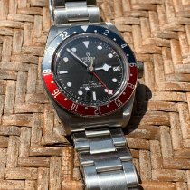 Tudor Black Bay GMT Steel 41mm Black No numerals United States of America, Alabama, Ooltewah