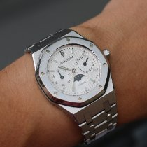 Audemars Piguet Royal Oak Day-Date Steel 36mm White No numerals