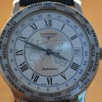 Longines Lindbergh Hour Angle L2.610.4.21.2 1999 pre-owned