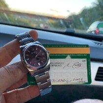 Rolex Oyster Perpetual 36 Ocel 36mm Červená Arabské