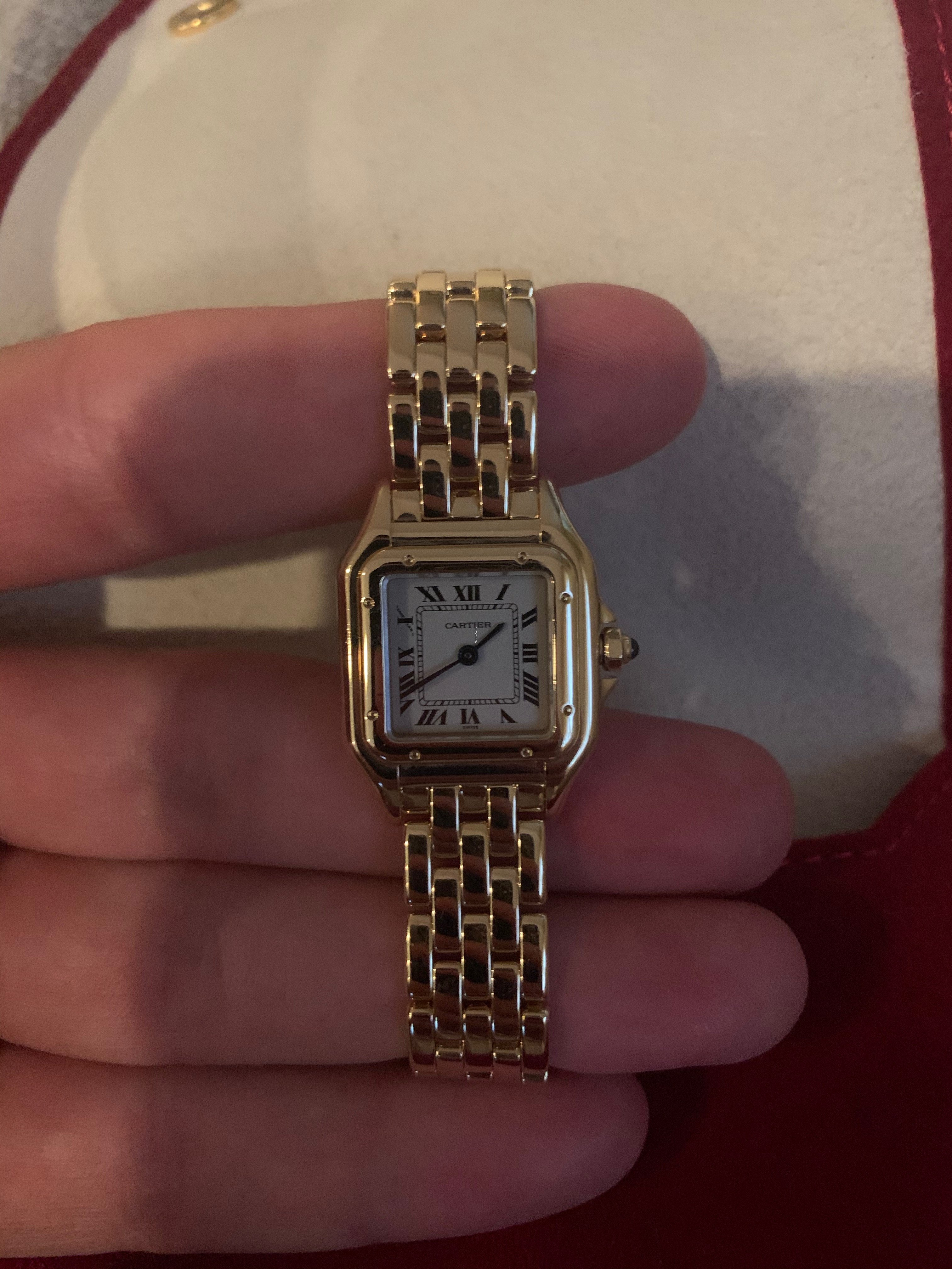 Panthere Cartier de Cartier cuarzo mujer reloj 1070