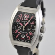 Franck Muller Conquistador Steel 40mm Black Arabic numerals United States of America, Ohio, Mason