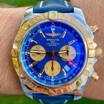 Breitling Chronomat 44 GMT Stahl 44mm Blau