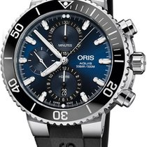 Oris Aquis Chronograph Steel 45.5mm Blue United States of America, California, Moorpark