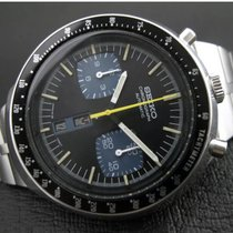 Seiko Acero 46mm Automático Seiko Bullhead 6138-0040 chronograph nuevo