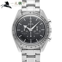 Omega Speedmaster Broad Arrow Сталь 42mm Чёрный